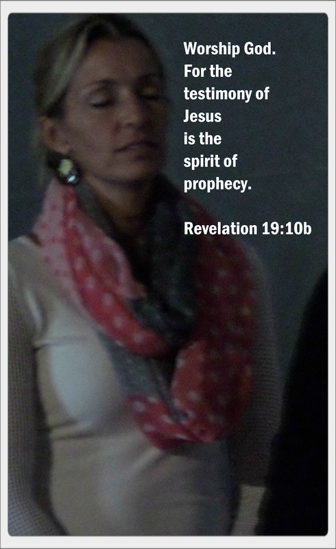 Worship God. For the testimony of Jesus is the spirit of prophecy. Revelation 19:10b