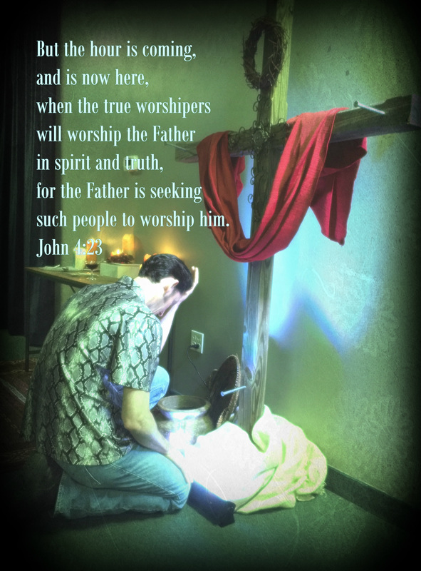 But the hour is coming, and is now here, when the true worshipers will worship the Father in spirit and truth, for the Father is seeking such people to worship him. John 4:23