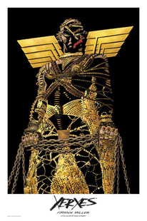 Frank Miller's rendition of Xerxes for his graphic novel