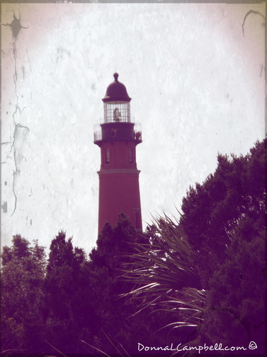 Ponce Inlet Lighthouse by Donna Campbell